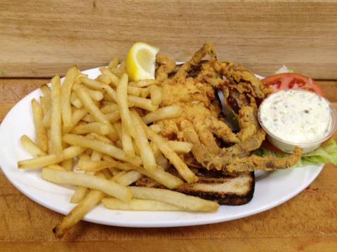 Branford Townhouse Restaurant Soft Shell Crab
