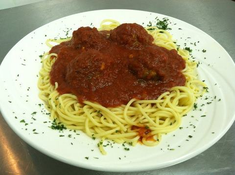 Branford Townhouse Restaurant Spaghetti and Meatballs