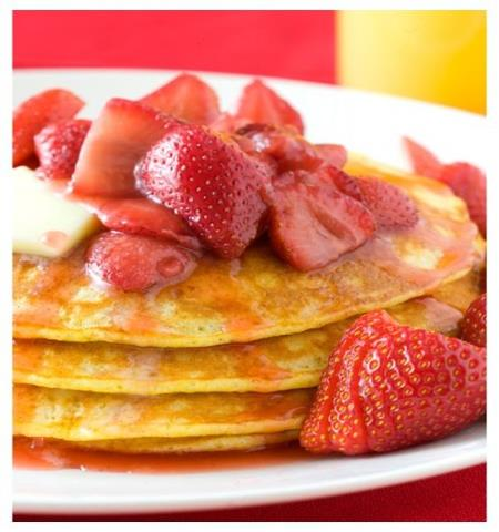 Branford Townhouse Restaurant Strawberry Pancakes
